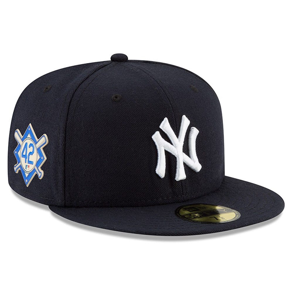 New York Yankees New Era 2018 Jackie Robinson Day 59FIFTY Fitted Hat - Navy
