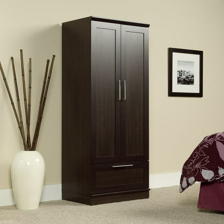 Sauder Homeplus Wardrobe/Storage Cabinet, Dakota Oak Finish ()