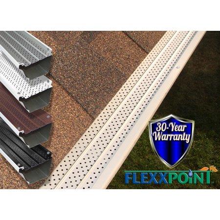 Covert System (FlexxPoint 30 Year Gutter Cover System, Matte Residential 5