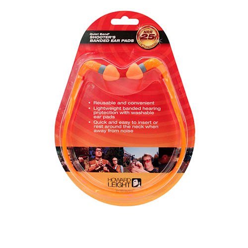 Howard Leight Quiet Band hearing protector in BP SKU: R-01538 with Elite Tactical Cloth