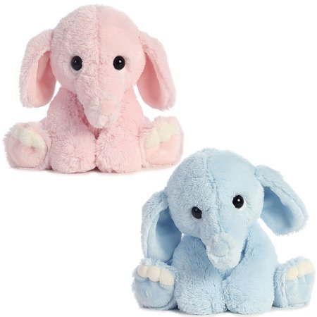 Blue Elephant Stuffed Animal (Aurora Lil Benny Phant Plush | 10