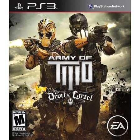 Army of Two: The Devils Cartel, Electronic Arts, PlayStation 3, (Army Of Two The Devil's Cartel All Costumes)