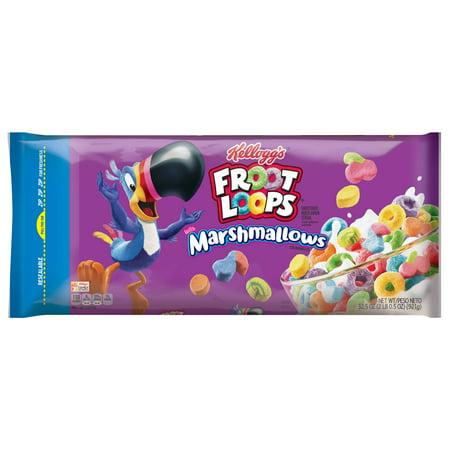 Kellogg's Froot Loops Breakfast Cereal, Original with Marshmallows, 32.5 (Best Fruity Loops Tutorials)