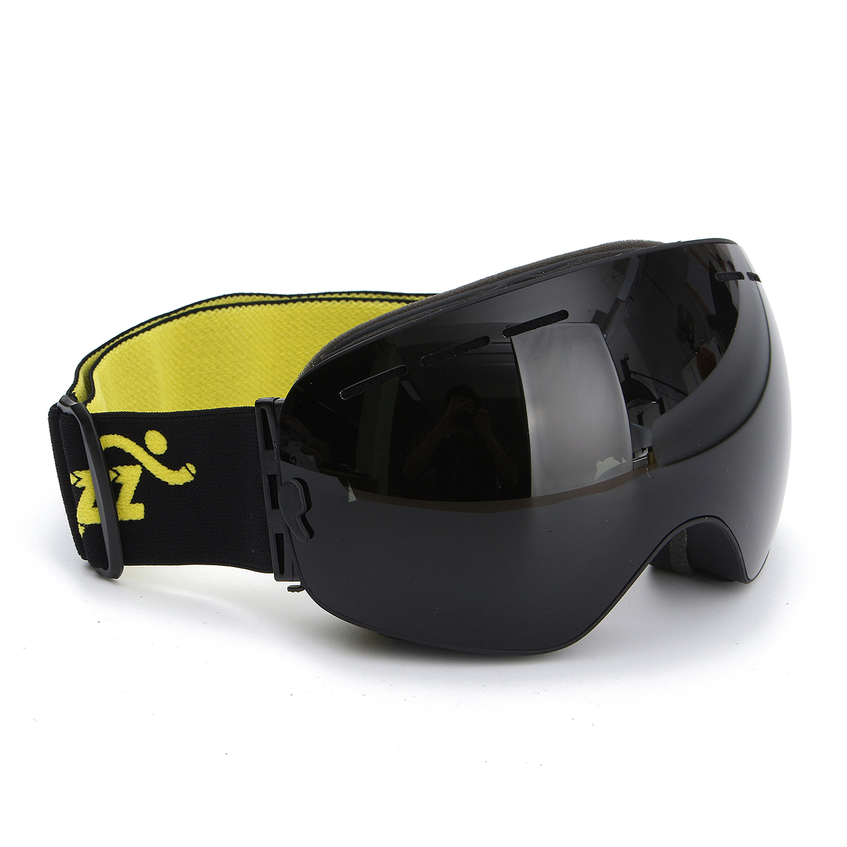 COPOZZ Spherical Dual-layer Lens Snowboard Goggles UV400 Anti-fog Skiing Glasses by