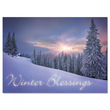 Quiet Joys Christmas Cards - Set of 18