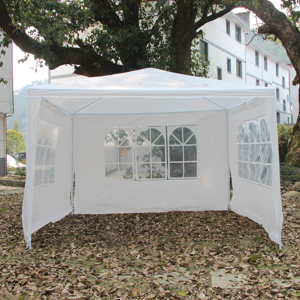 Ktaxon Outdoor 10'x10'Canopy Party Wedding Tent Heavy Duty Gazebo Cater Events 3 Sides by