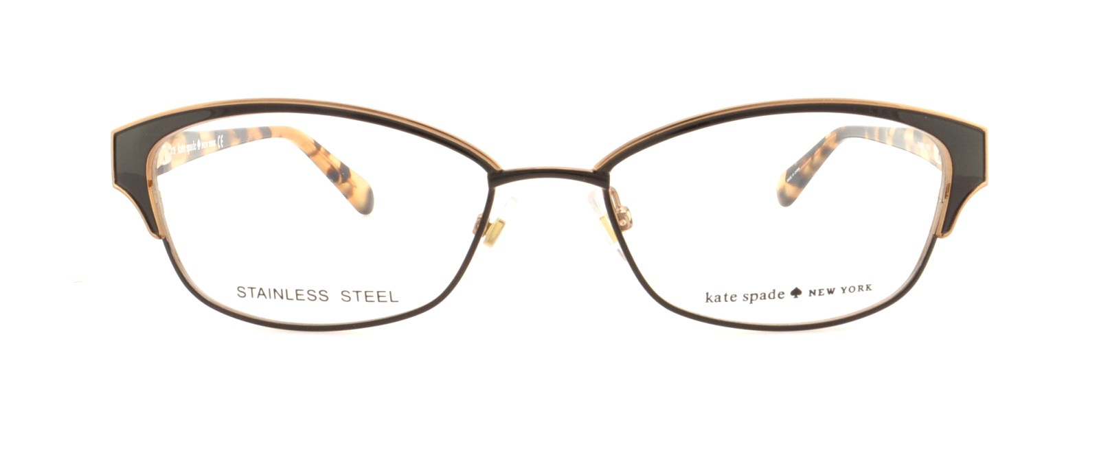 KATE SPADE Eyeglasses RAGAN 0P40 Brown 51MM - Walmart.com