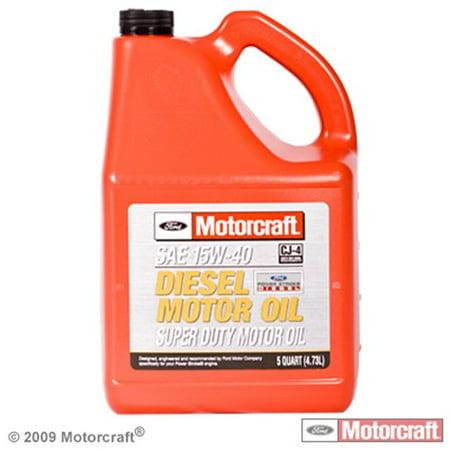 Motorcraft motor oil 15w40 5 qt for Motorcraft synthetic blend motor oil