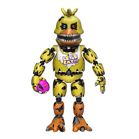 Five Nights At Freddys Nightmare Chica