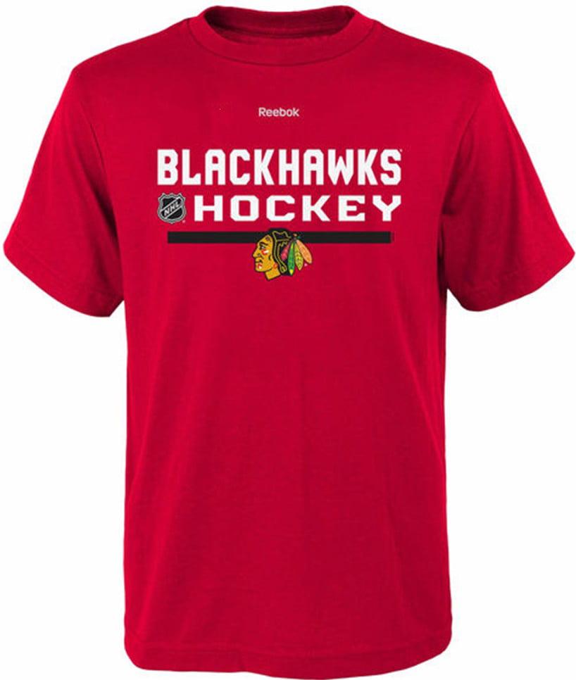 Chicago Blackhawks Youth T-Shirt Hockey by Reebok