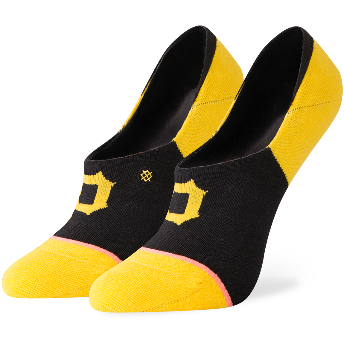 Pittsburgh Pirates Stance Women's Invisible No Show Socks - M