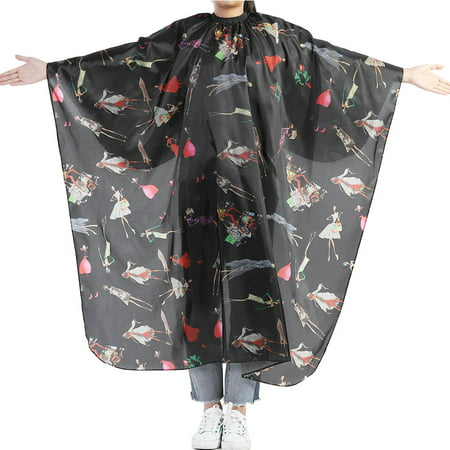 WALFRONT Adult Hair Cutting Cape Hairdresser Cutting Apron Professional Salon Barber Cape Hair Cut Hairdressing Waterproof