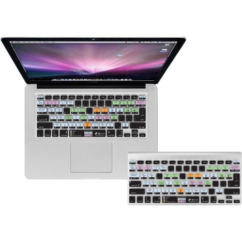 Dr. Bott Clear Keyboard Cover for Apple Ultra-Thin Keyboard Num Pad