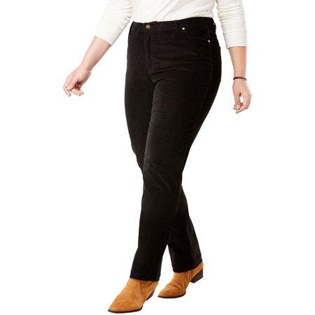 Woman Within Women's Plus Size Corduroy Straight Leg Stretch Pant Gymboree Corduroy Pant