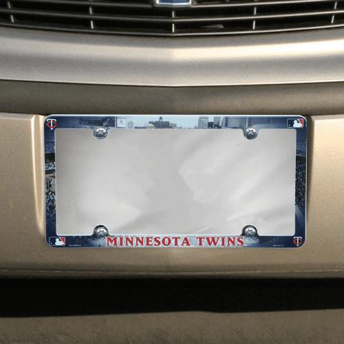 Minnesota Twins Field Plastic License Plate Frame - No Size