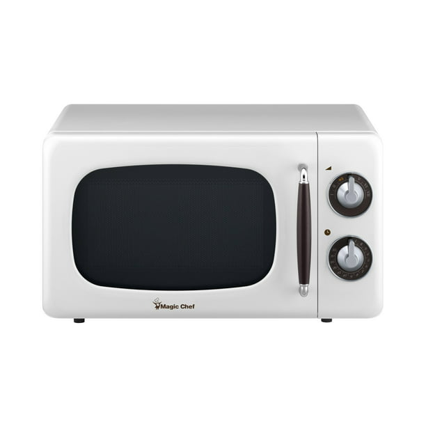 0 7 Cu Ft 700 Watt Countertop Microwave In White Walmart Com Walmart Com