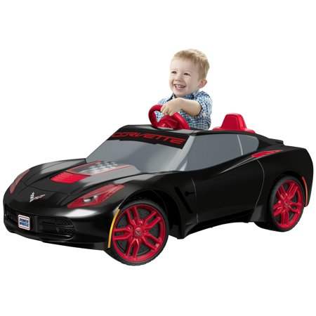 Power Wheels 6V Corvette Ride On  Black