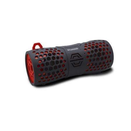 Sylvania Rugged water resistant Bluetooth speaker - Black/Red
