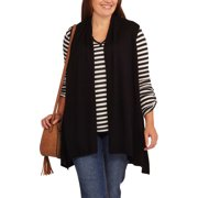 Women's Plus Size Flyaway Sweater Vest