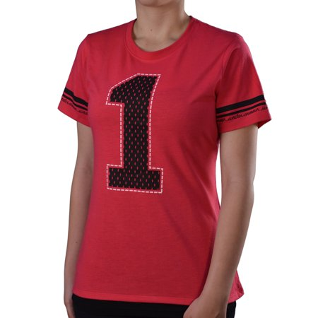 Under armour women 39 s 1 running shirt for Under armour shirts at walmart