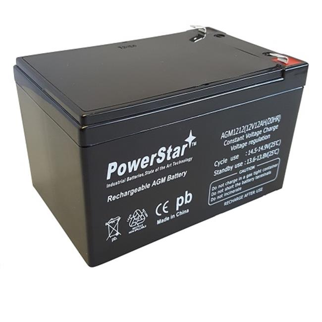 Powerstar AGM1212-543 Replacement Battery for Currie Elec...