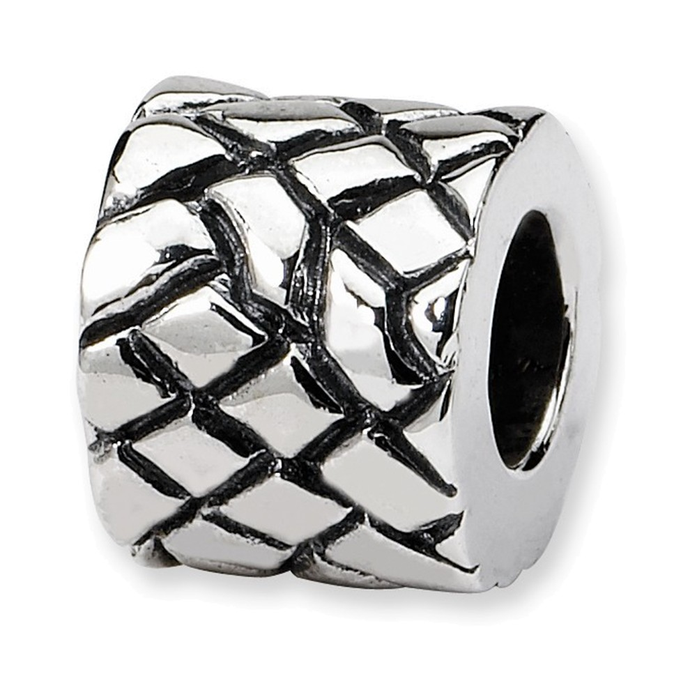 Jewelry Adviser Beads Sterling Silver Reflections Bali Bead
