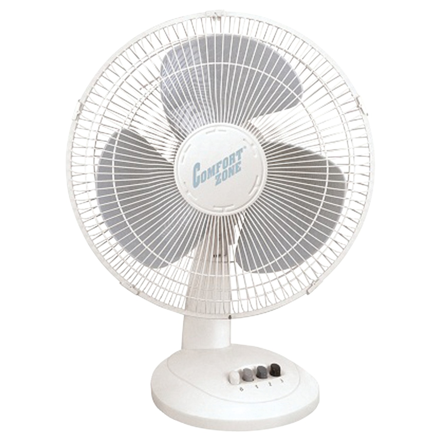 "Comfort Zone CZ161 16"" Oscillating Table Fan"