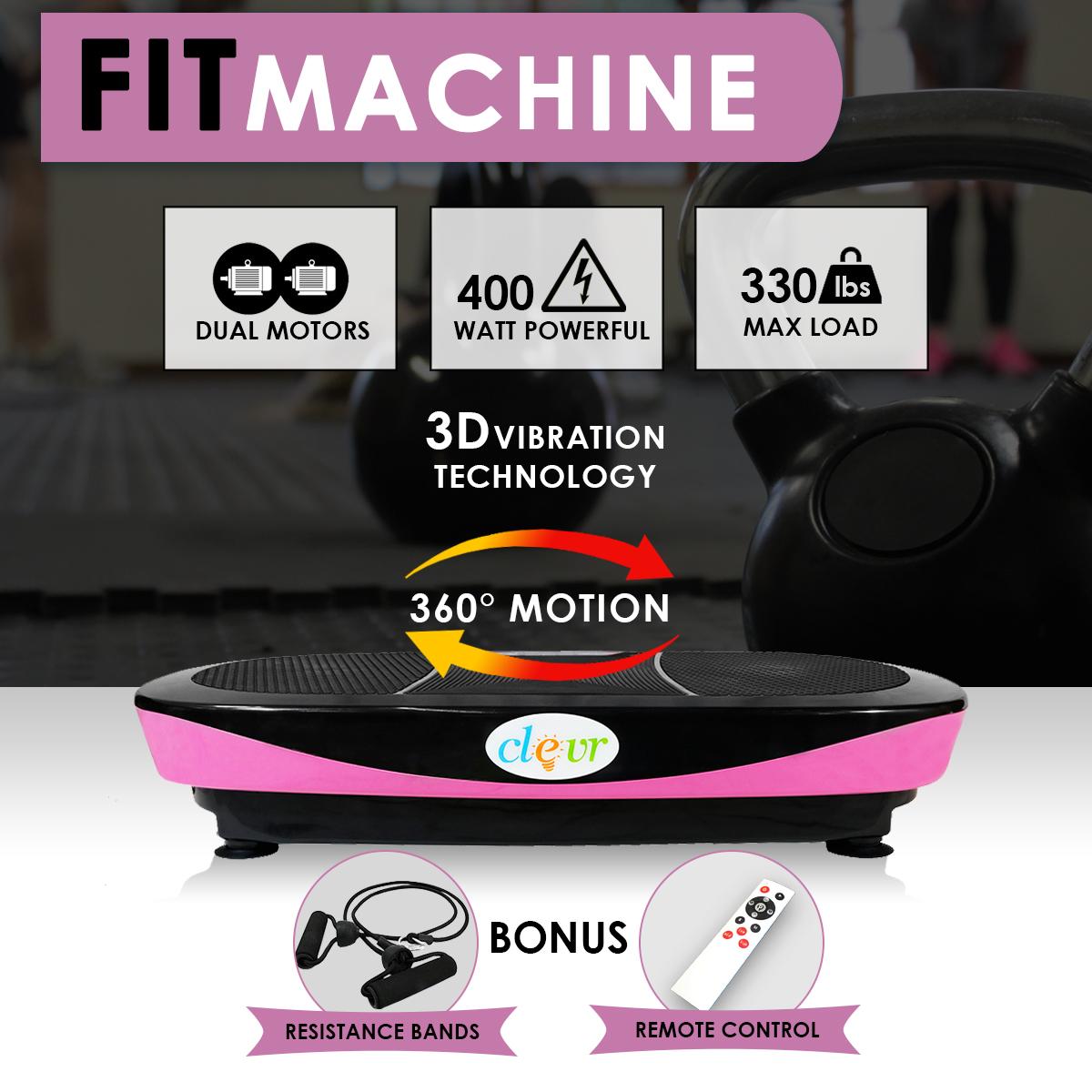 Clevr Full Body Oscillation Vibration Platform Fitness Ma...