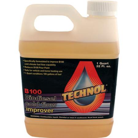 - 1 Quart Technol Biodiesel Anti-Gel B100 Cold Flow Treatment Winterization Fuel Additive