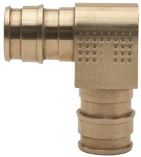 ONE-PIECE BRASS ELBOW, 1/2 IN. X 1/2 IN., PEX-A, LEAD FREE