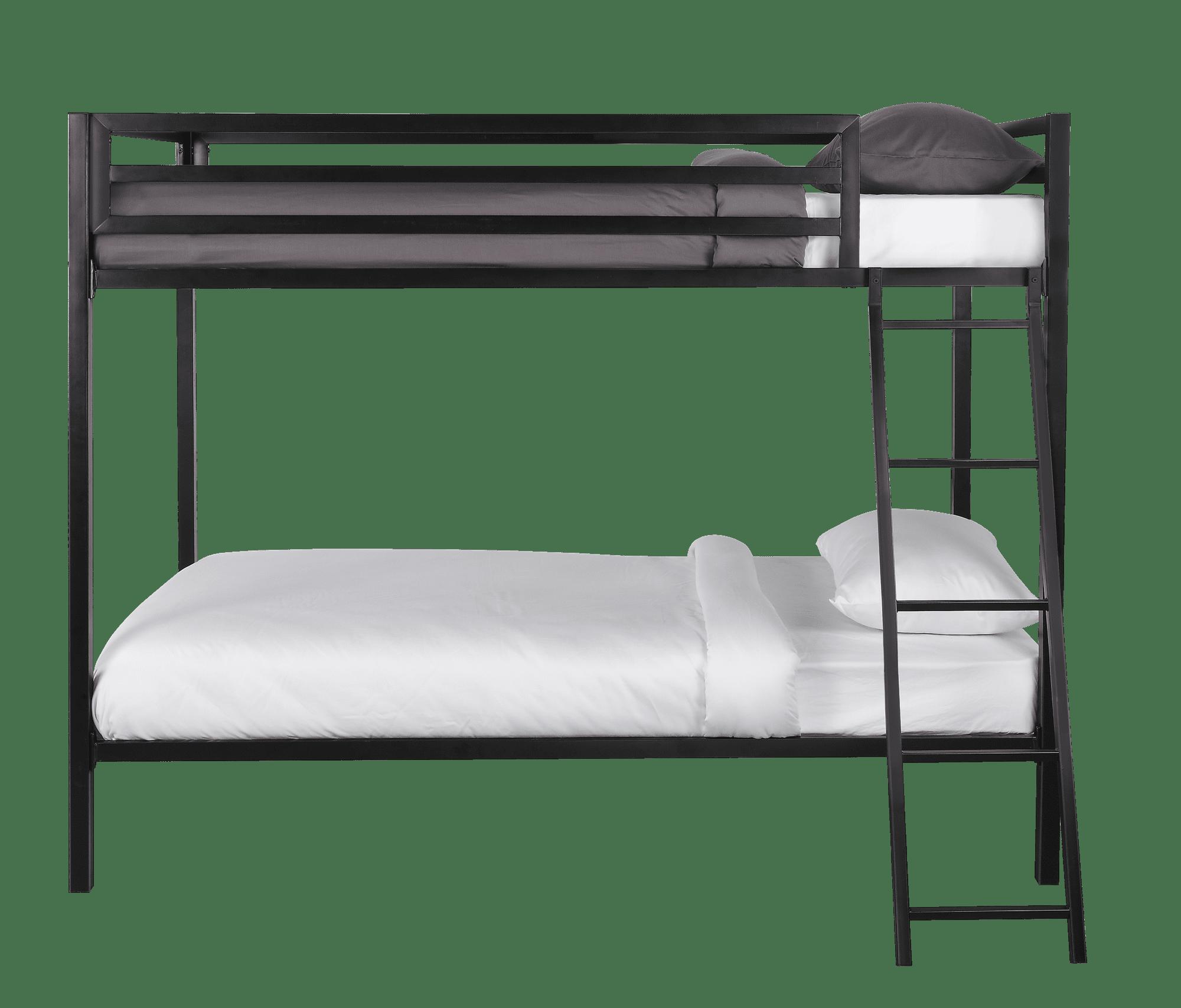 Mainstays Premium Metal Twin Over Twin Bunk Bed Multiple Colors Walmart Com Walmart Com