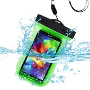 san francisco 2057d f4e18 Waterproof Sports Armband Case Bag Pouch for Samsung Galaxy S3, A5 2018,  S9, Xcover 4, J5 2017 , A3 2017, A5 2017, Sol, A5 2016, A310 A3 2016  (Green) ...