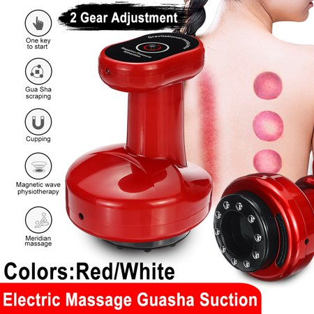 Electric Cupping Massage Guasha Suction Scraping Massager Body Device Negative Pressure Meridian Dredge Body Slim Physiotherapy - image 1 of 13