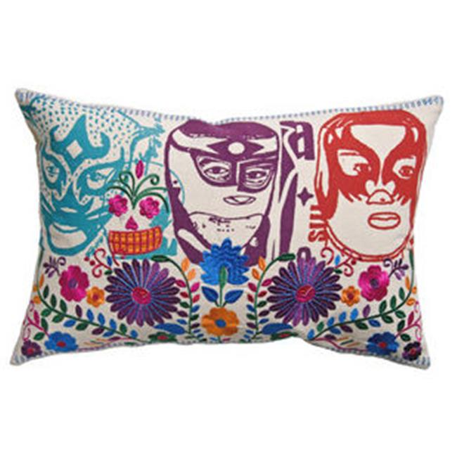 KOKO Company 91951 Mexico 13 in. x 20 in. El Santo Pillow - Multi