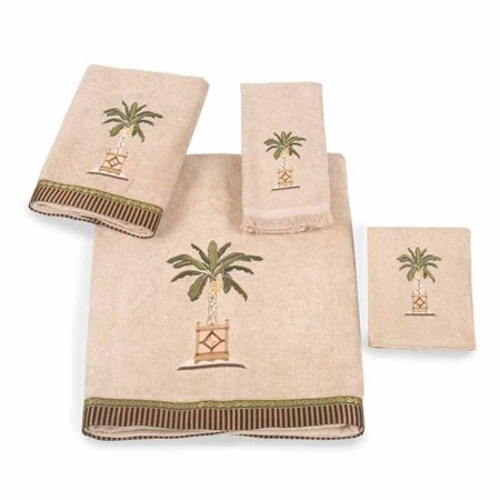 Avanti Linens Banana Palm 4-Piece Towel Set