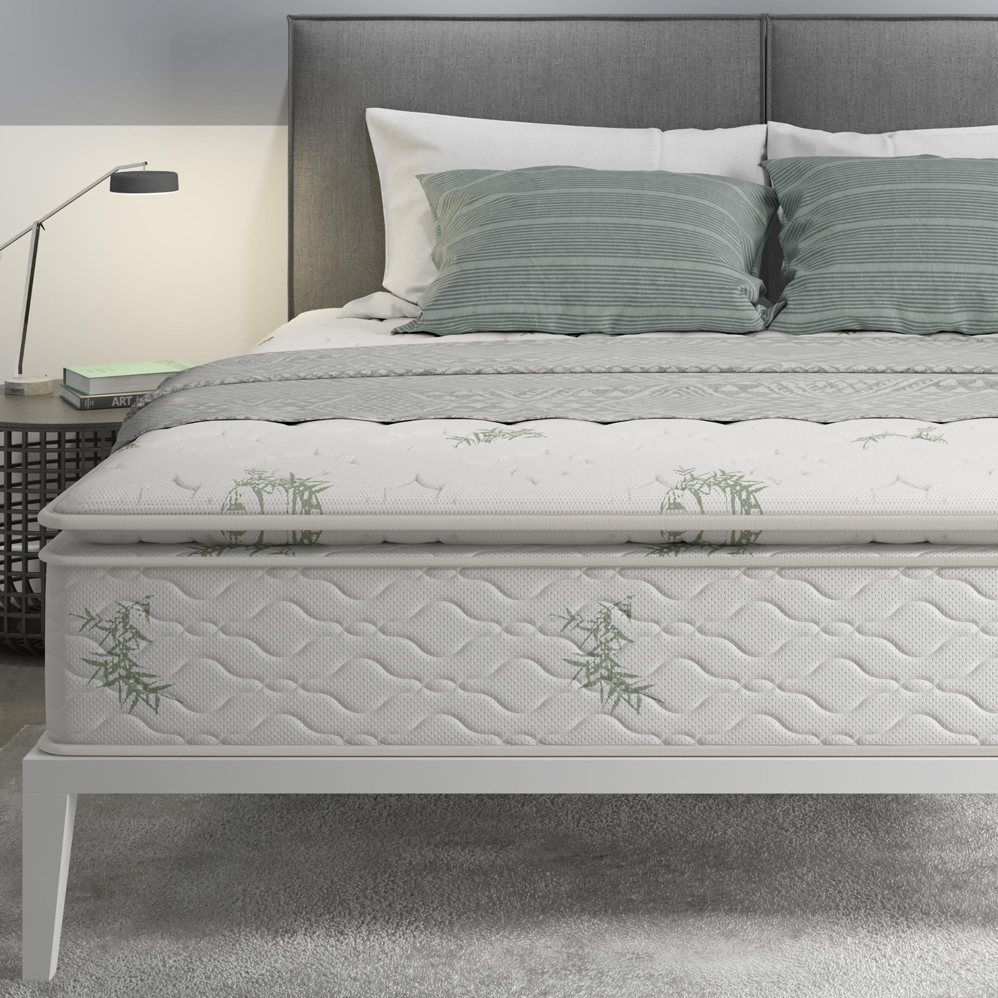 """Signature Sleep 13"""" Independently-Encased Coil Pillow Top Mattress by Dorel Home Products"""