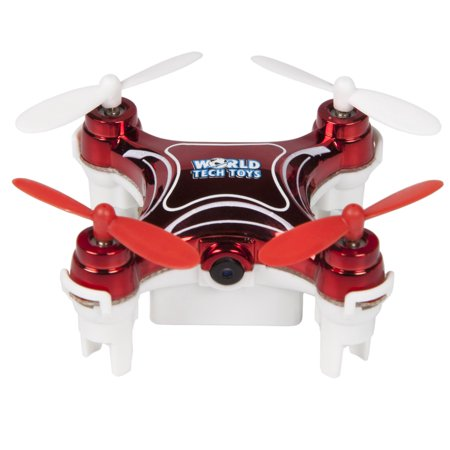 Nemo 2.4GHz 4.5-Channel Camera R/C Spy Drone, Red
