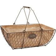"Panacea Products 14"" Rustic Herb Basket 84270-6"