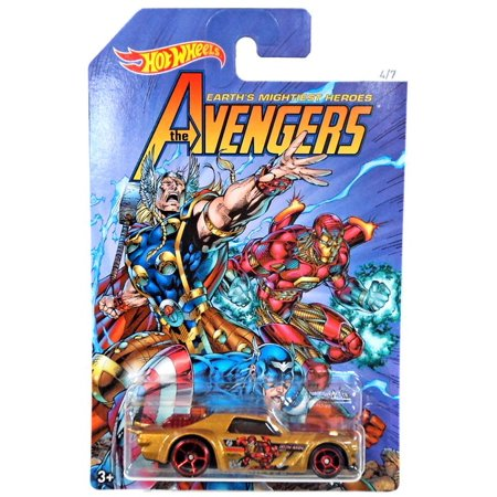 Hot Wheels The Avengers Night Shifter Die-Cast Car [Iron