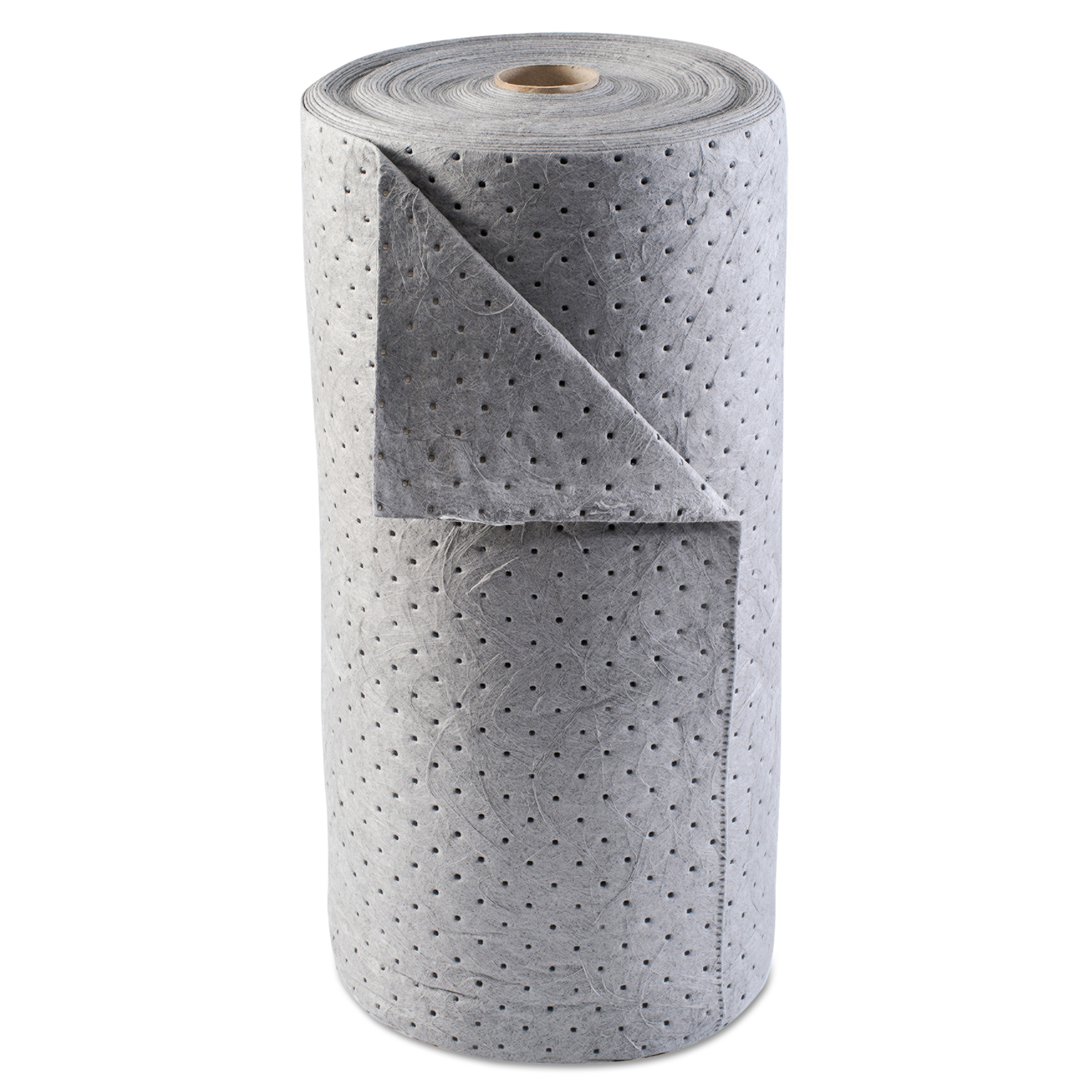 Anchor Brand Universal Sorbent-Pad Roll, 30w x 120ft, Gray