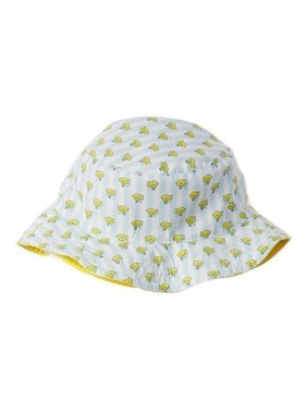 Azul Boys Light Blue Yellow Submarine Print Reversible Sun Hat