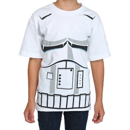 Star Wars Stormtrooper Youth Boys Costume T-Shirt](Star Wars Gifts For Boys)