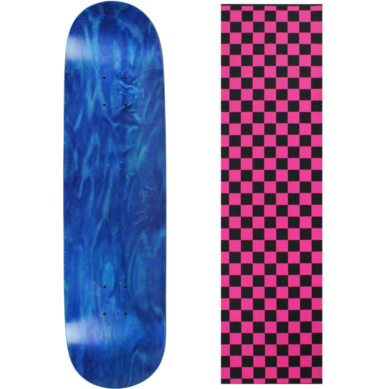 Moose Skateboard Deck Pro 7-Ply Canadian Maple STAINED BL...