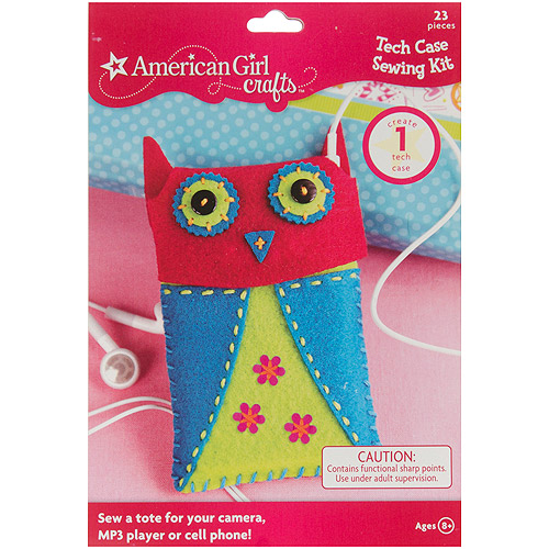 American Girl Tech Case Sewing Kit