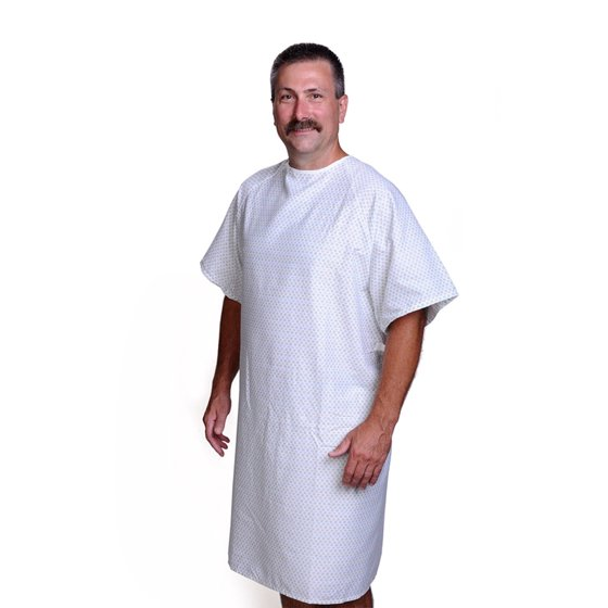 Classic Patient Hospital Gowns - Walmart.com