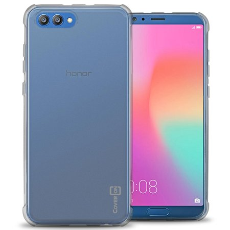 new concept 4c5ba 272fb CoverON Huawei Honor View 10 / Honor V10 Case, FlexGuard Series Soft  Flexible Slim Fit TPU Phone Cover