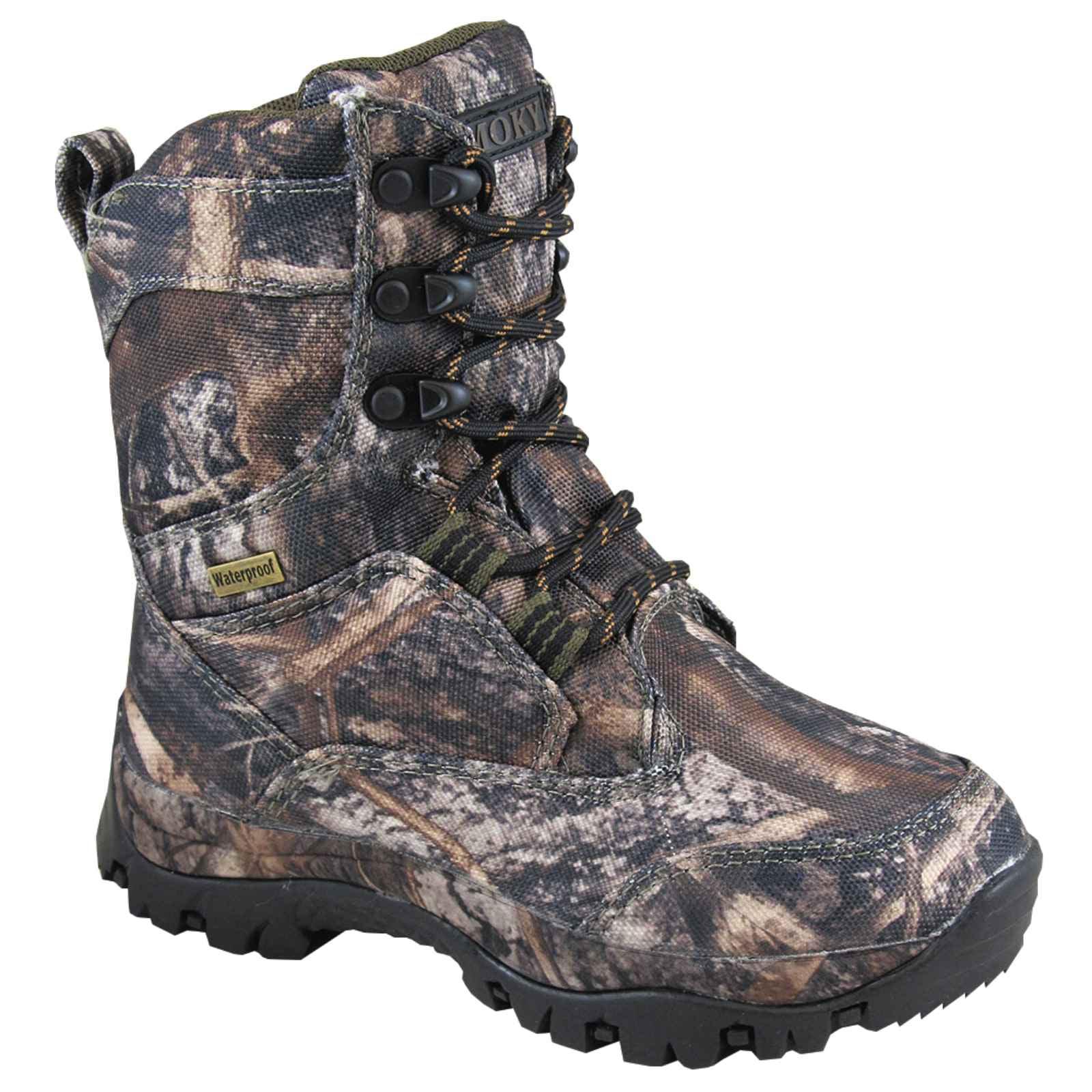 Smoky Mountain Boys' Hunter True Timber Camo Boot 2476Y by Smoky Mountain