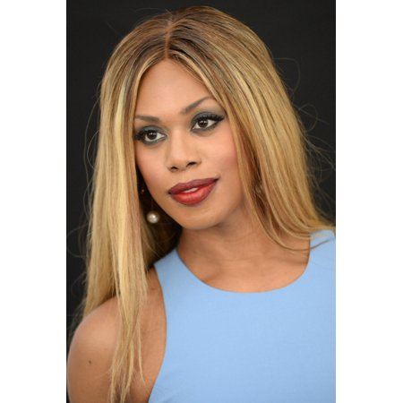 Laverne Cox At Arrivals For Ricki And The Flash Premiere Rolled Canvas Art     8 X 10