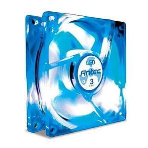 Antec TriCool 80mm Blue LED Case Fan ()