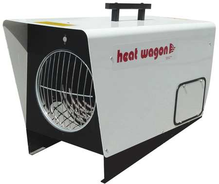 HEAT WAGON 18000 12000W Electric Salamander Heater, Fan Forced, 240V, P1800-3 by Salamander Heaters